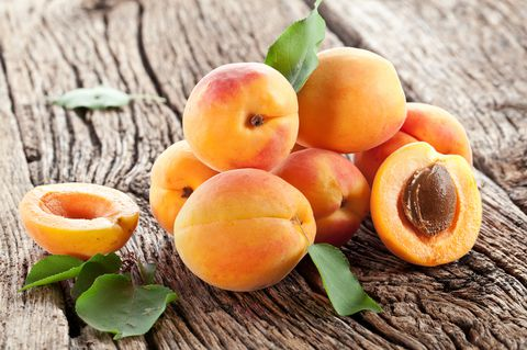 peach pits and plum
