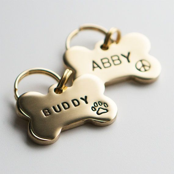Pet Name Tags