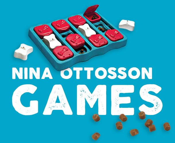 Outward Hound Ottosson dog puzzle toys