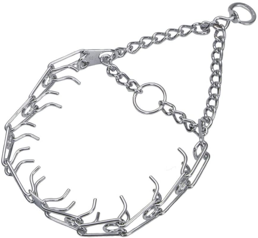 Herm Sprenger Pet Supply Imports Chrome Plated Training Collar